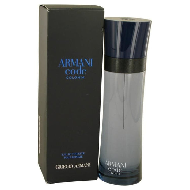 Armani Code Colonia by Giorgio Armani Eau De Toilette Spray 2.5 oz for Men - COLOGNE