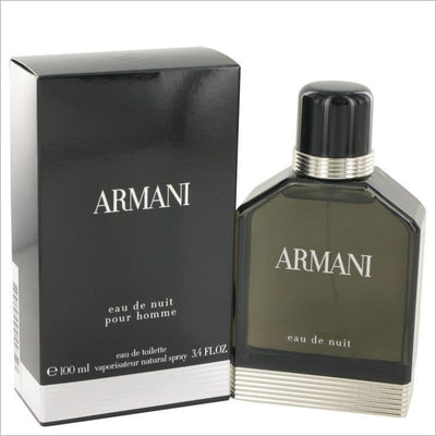 Armani Eau De Nuit by Giorgio Armani Eau De Toilette Spray 3.4 oz for Men - COLOGNE