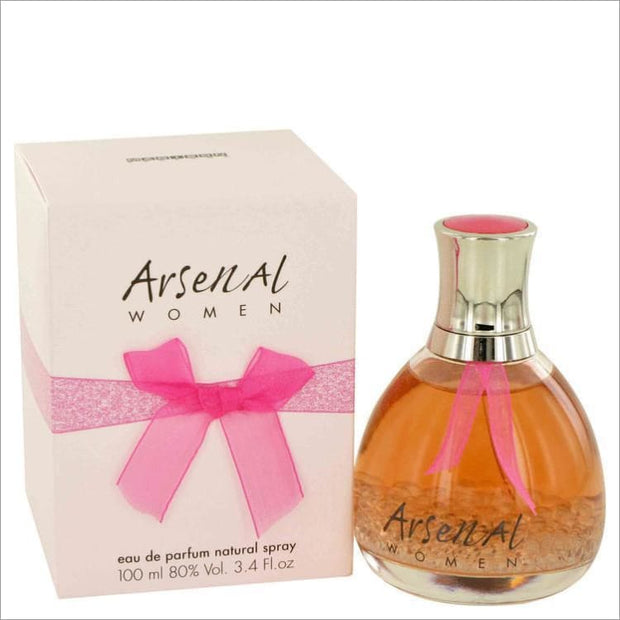 ARSENAL by Gilles Cantuel Eau De Parfum Spray 3.4 oz for Women - PERFUME