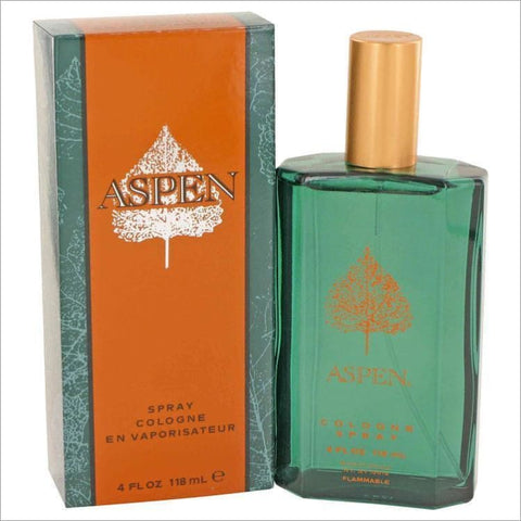ASPEN by Coty Cologne Spray 4 oz for Men - COLOGNE