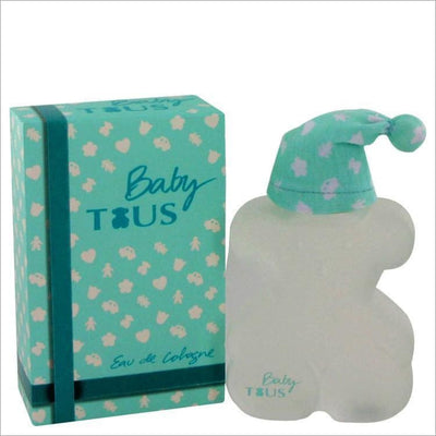 Baby Tous by Tous Eau De Cologne Spray (Alcohol Free) 3.4 oz for Women - PERFUME