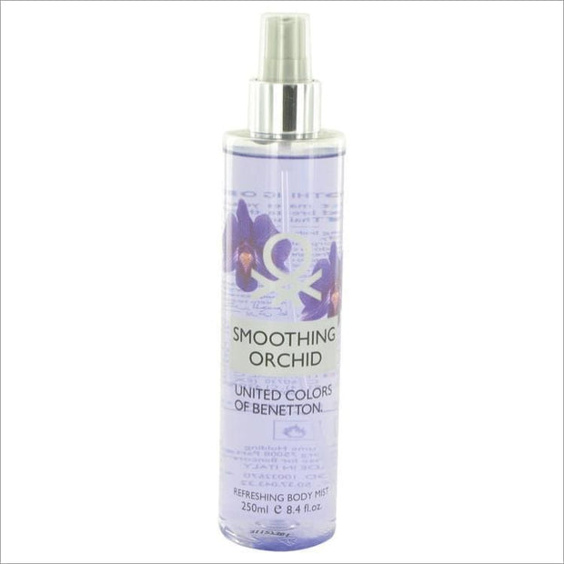 Benetton Smoothing Orchid by Benetton Refreshing Body Mist 8.4 oz for Women - PERFUME