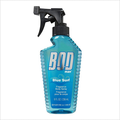 Bod Blue Surf 8 Oz Fragrance Body Spray - South Beach Bath and Body