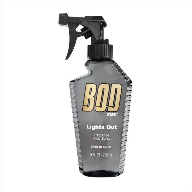 Bod Lights Out 8 Oz Fragrance Body Spray - South Beach Bath and Body