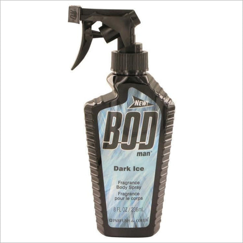 Bod Man Dark Ice by Parfums De Coeur Body Spray 4 oz for Men - COLOGNE