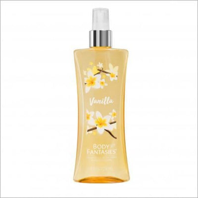Body Fantasies Vanilla 8 Oz Fragrance Body Spray - South Beach Bath and Body