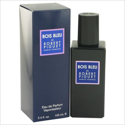 Bois Bleu by Robert Piguet Eau De Parfum Spray (Unisex) 3.4 oz for Women - PERFUME