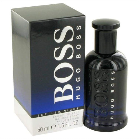 Boss Bottled Night by Hugo Boss Eau De Toilette Spray 1.7 oz for Men - COLOGNE