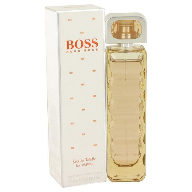 Boss Orange by Hugo Boss Eau De Toilette Spray 2.5 oz for Women - PERFUME