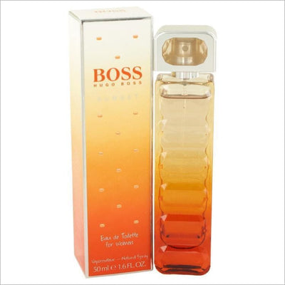 Boss Orange Sunset by Hugo Boss Eau De Toilette Spray 1.6 oz for Women - PERFUME