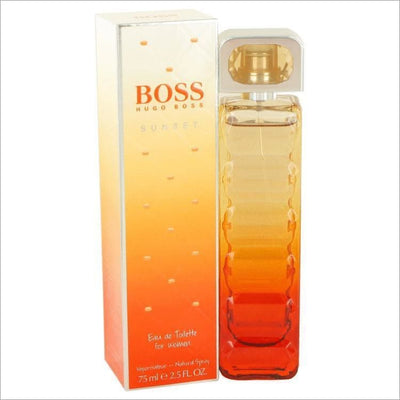 Boss Orange Sunset by Hugo Boss Eau De Toilette Spray 2.5 oz for Women - PERFUME