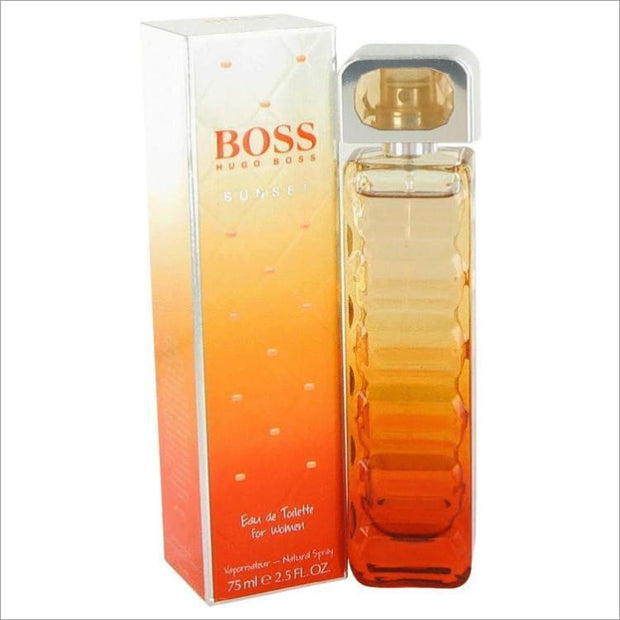 Boss Orange Sunset by Hugo Boss Eau De Toilette Spray (Tester) 2.5 oz for Women - PERFUME