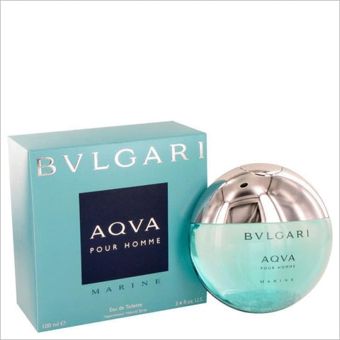 Bvlgari Aqua Marine by Bvlgari Eau De Toilette Spray 3.4 oz for Men - COLOGNE