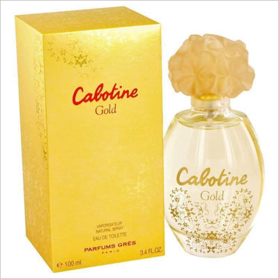 Cabotine Gold by Parfums Gres Eau De Toilette Spray 3.4 oz for Women - PERFUME