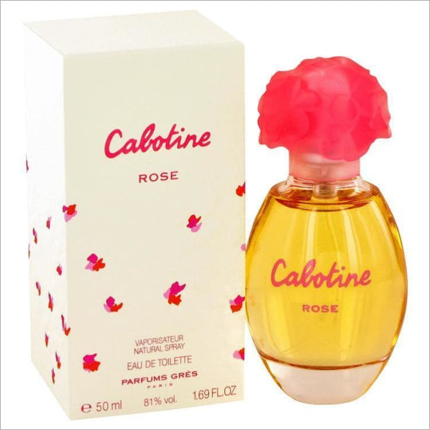 Cabotine Rose by Parfums Gres Eau De Toilette Spray 1.7 oz for Women - PERFUME