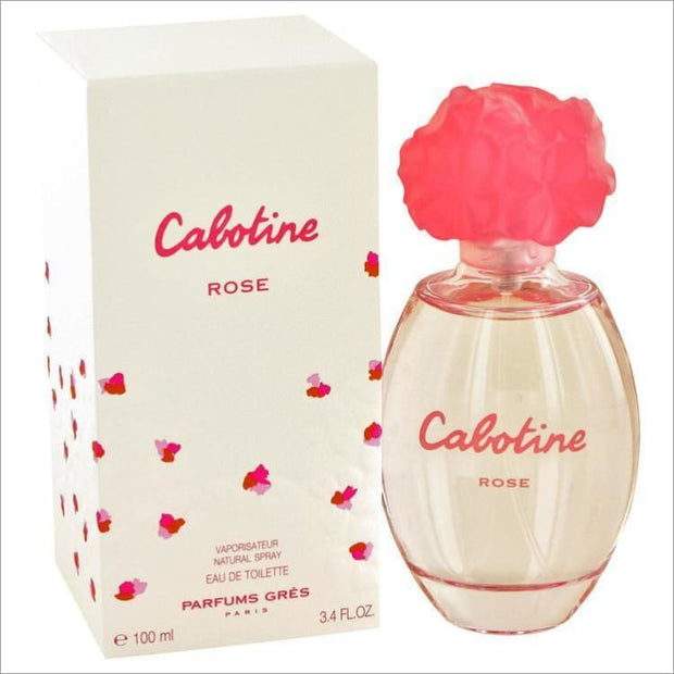 Cabotine Rose by Parfums Gres Eau De Toilette Spray 3.4 oz for Women - PERFUME
