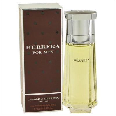 CAROLINA HERRERA by Carolina Herrera Eau De Toilette Spray 3.4 oz for Men - COLOGNE
