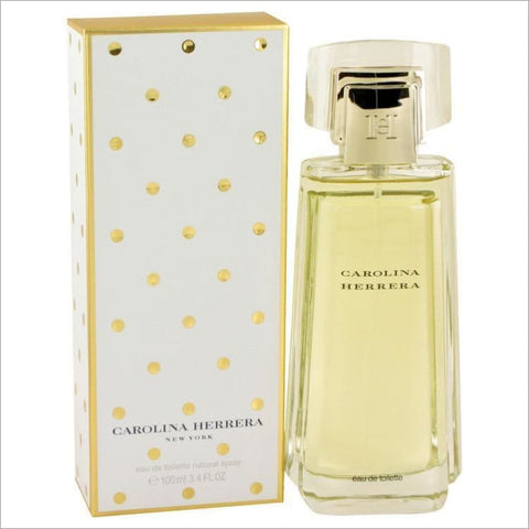 CAROLINA HERRERA by Carolina Herrera Eau De Toilette Spray 3.4 oz for Women - PERFUME