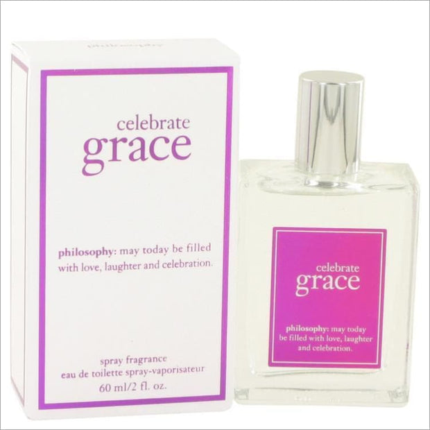 Celebrate Grace by Philosophy Eau De Toilette Spray 2 oz for Women - PERFUME