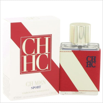 CH Sport by Carolina Herrera Eau De Toilette Spray 1.7 oz for Men - COLOGNE