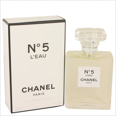 Chanel No. 5 Leau by Chanel Eau De Toilette Spray 3.4 oz for Women - PERFUME