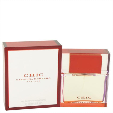 Chic by Carolina Herrera Eau De Parfum Spray 1.7 oz for Women - PERFUME