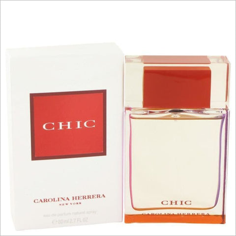 Chic by Carolina Herrera Eau De Parfum Spray 2.7 oz for Women - PERFUME