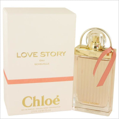 Chloe Love Story Eau Sensuelle by Chloe Eau De Parfum Spray 2.5 oz for Women - PERFUME