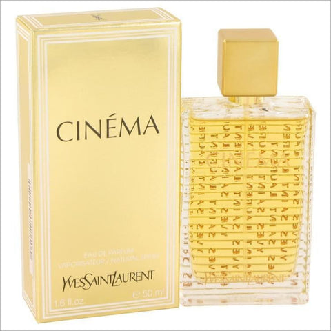 Cinema by Yves Saint Laurent Eau De Parfum Spray 1.6 oz for Women - PERFUME