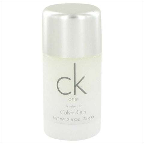 CK ONE by Calvin Klein Deodorant Stick 2.6 oz for Men - COLOGNE