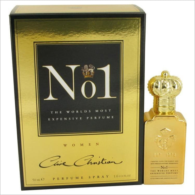 Clive Christian No. 1 by Clive Christian Pure Perfume Spray 1.6 oz for Women - PERFUME
