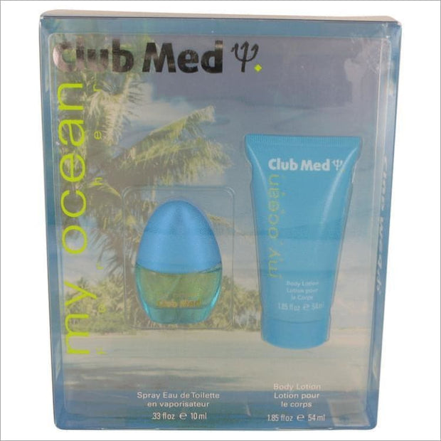 Club Med My Ocean by Coty Gift Set -- for Women - PERFUME