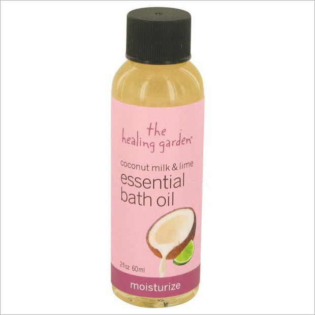 Coconut Milk & Lime by The Healing Garden Moisturize Bath Oil 2 oz for Women - PERFUME