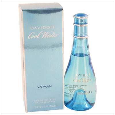 COOL WATER by Davidoff Eau De Toilette Spray 3.4 oz for Women - PERFUME