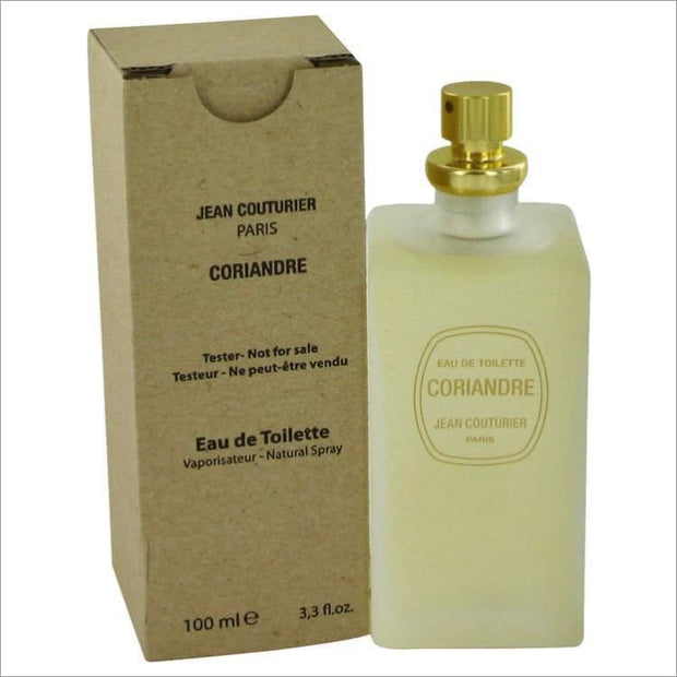 CORIANDRE by Jean Couturier Eau De Toilette Spray (Tester) 3.4 oz for Women - PERFUME
