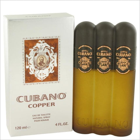 Cubano Copper by Cubano Eau De Toilette Spray 4 oz for Men - COLOGNE