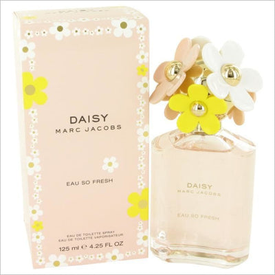 Daisy Eau So Fresh by Marc Jacobs Eau De Toilette Spray 4.2 oz for Women - PERFUME