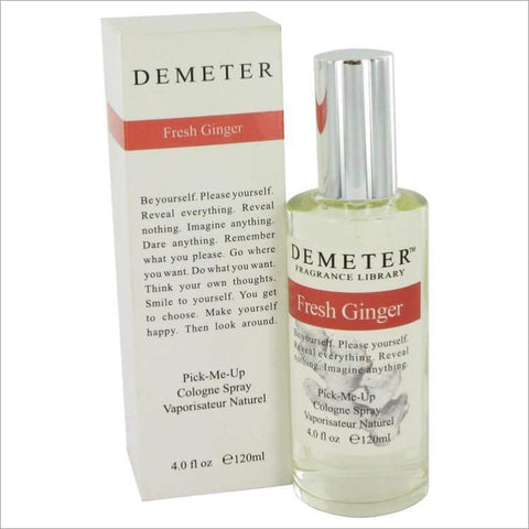 Demeter by Demeter Fresh Ginger Cologne Spray 4 oz for Women - PERFUME