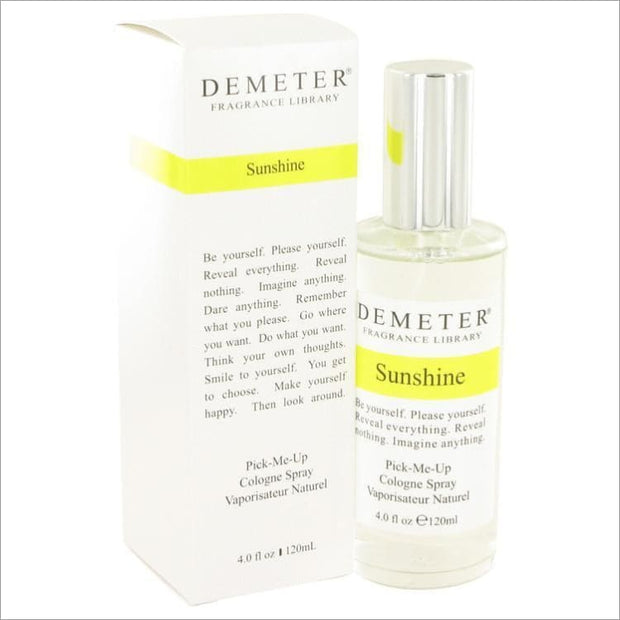Demeter by Demeter Sunshine Cologne Spray 4 oz for Women - PERFUME