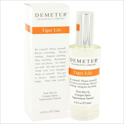 Demeter by Demeter Tiger Lily Cologne Spray 4 oz for Women - PERFUME