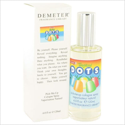 Demeter by Demeter Tootsie Tropical Dots Cologne Spray 4 oz for Women - PERFUME