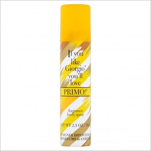 Designer Imposters Primo! 2.5 Oz Body Spray - South Beach Bath and Body