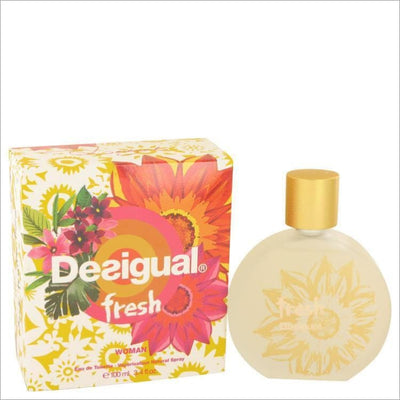 Desigual Fresh by Desigual Eau De Toilette Spray 3.4 oz for Women - PERFUME