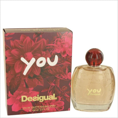 Desigual You by Desigual Eau De Toilette Spray 3.4 oz for Women - PERFUME