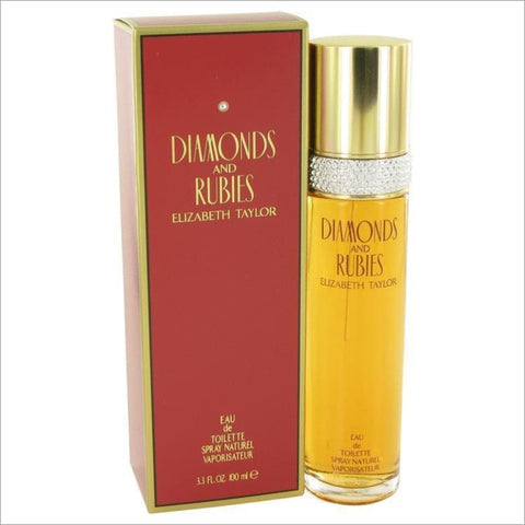 DIAMONDS & RUBIES by Elizabeth Taylor Eau De Toilette Spray 3.4 oz for Women - PERFUME
