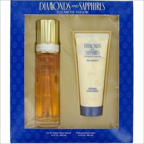 Diamonds & Sapphires 2pc Set W-3.3 Edt Sp - South Beach Fragrance Gift Set