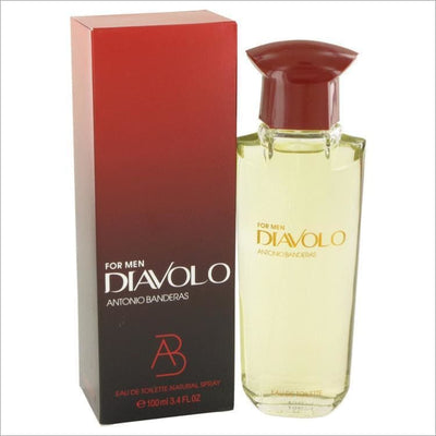 Diavolo by Antonio Banderas Eau De Toilette Spray 3.4 oz for Men - COLOGNE