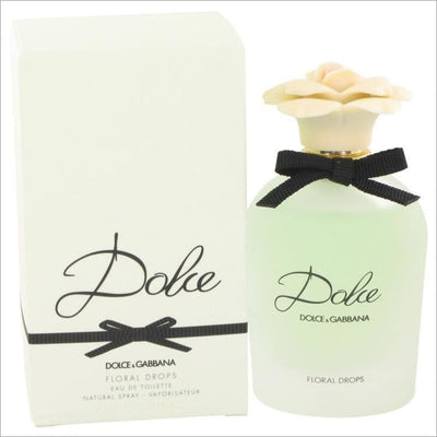 Dolce Floral Drops by Dolce & Gabbana Eau De Toilette Spray 2.5 oz for Women - PERFUME
