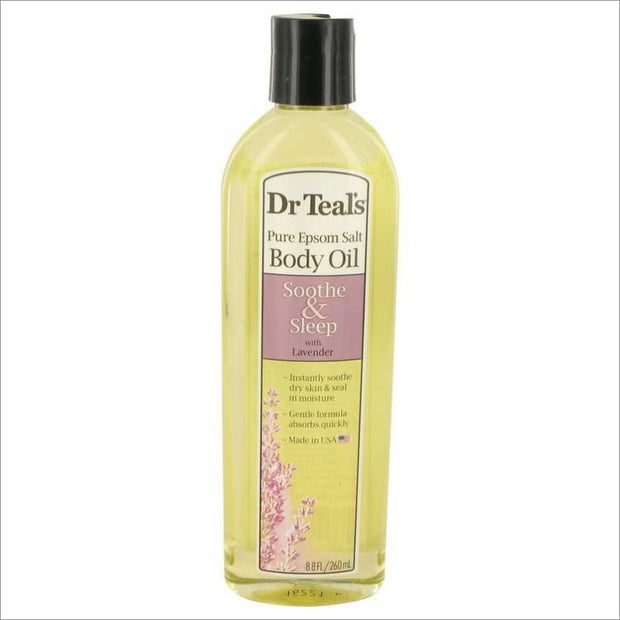 Dr Teals Bath Oil Sooth & Sleep with Lavender by Dr Teals Pure Epsom Salt Body Oil Sooth & Sleep with Lavender 8.8 oz for Women - PERFUME