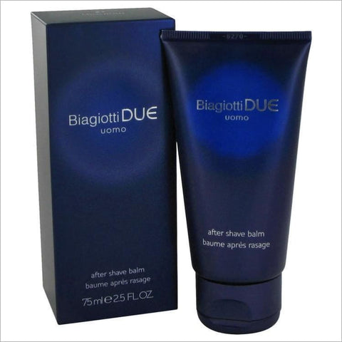 Due by Laura Biagiotti After Shave Balm 2.5 oz for Men - COLOGNE